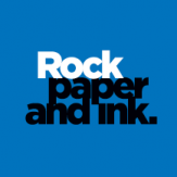 Rock paper and Ink logo